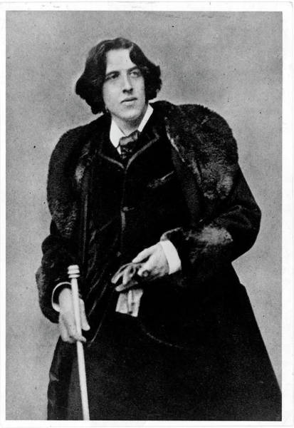 Scriptwriter Photograph - Oscar Wilde by Time Life Pictures