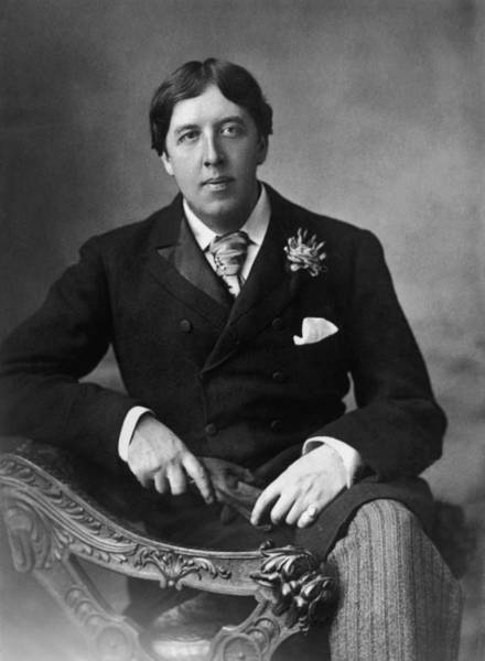 Poet Photograph - Oscar Wilde by W. And D. Downey