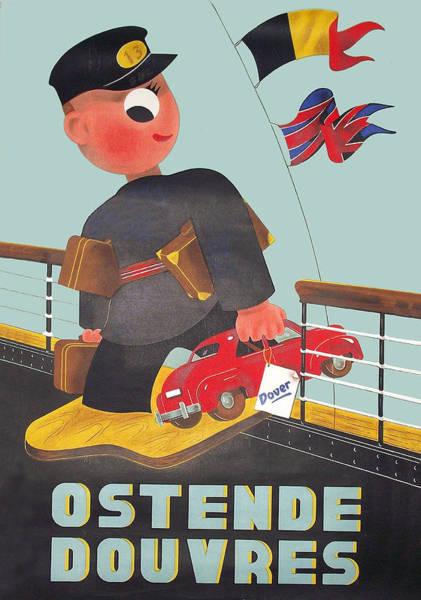Wall Art - Digital Art - Ostende by Long Shot