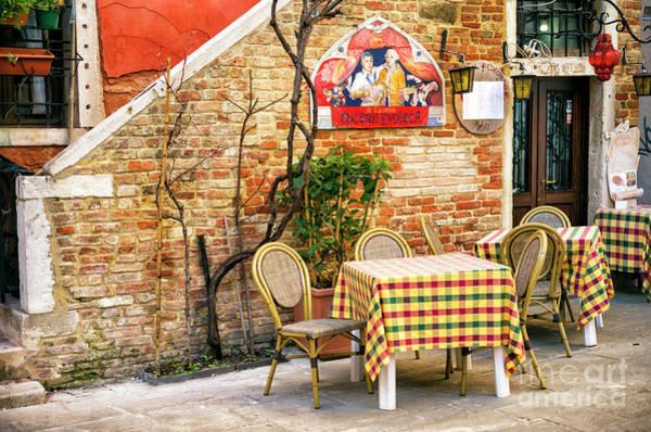 Wall Art - Photograph - Osteria Enoteca In Venice by John Rizzuto
