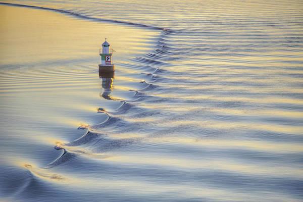 Wall Art - Photograph - Ostra Algogrundet Lighthouse by Marianne Campolongo