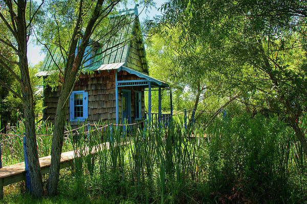 Photograph - Otis Cabin by Steve Stuller