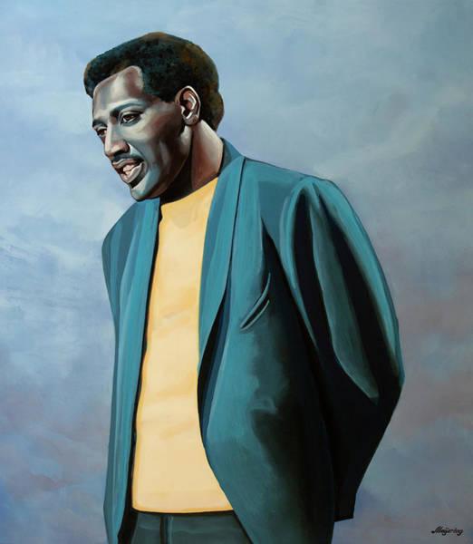 Plains Painting - Otis Redding Painting by Paul Meijering