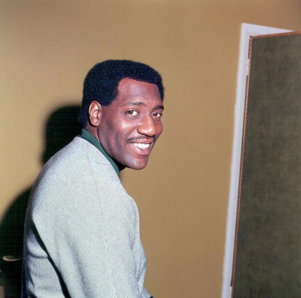Soul Music Photograph - Otis Redding Portrait In England by Michael Ochs Archives