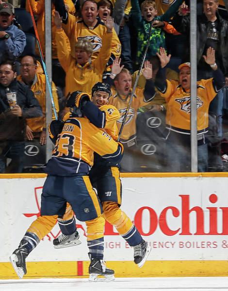 National Hockey League Photograph - Ottawa Senators V Nashville Predators by John Russell