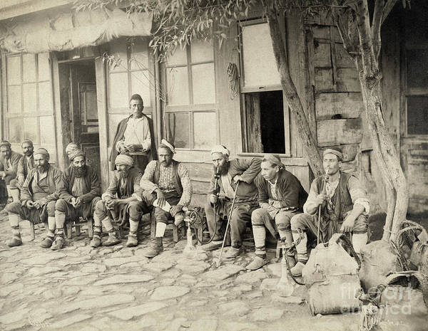 Photograph - Ottoman Cafe, C1890 by Granger