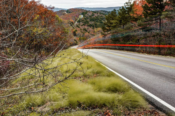 Photograph - Ouachita Mountain Drive - Talimena Scenic Byway  by Gregory Ballos