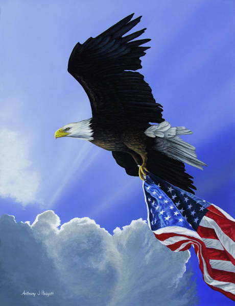 Painting - Our Glory by Anthony J Padgett