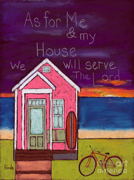 Wall Art - Painting - Our House by David Hinds
