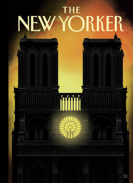 Cathedral Painting - Our Lady by Bob Staake