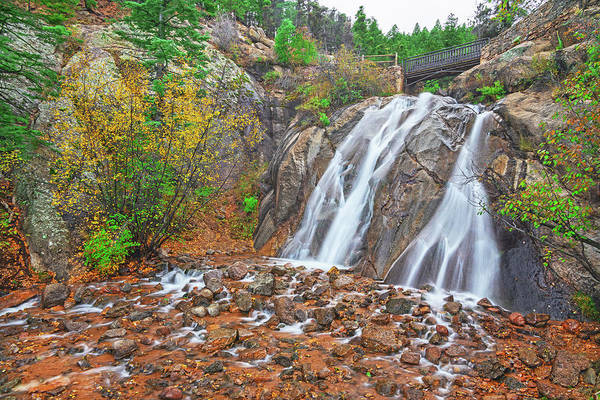 Helen Hunt Falls Photograph - Our Lady Of The Canyon, Helen Hunt Jackson, After Whom This Waterfall Is Named. by Bijan Pirnia