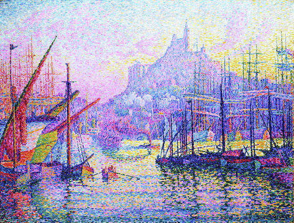 Wall Art - Painting - Our Lady Of The Guard - Digital Remastered Edition by Paul Signac