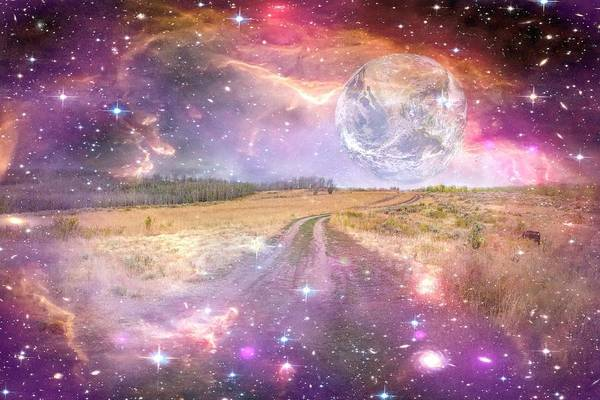 Digital Art - Our Place In The Universe by Ramona Murdock