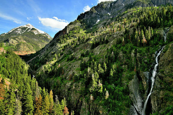 Photograph - Ouray Canyon Of Colorado by Ray Mathis