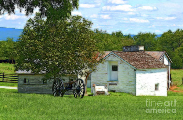 Photograph - Out Buildings And Cannon by Patti Whitten