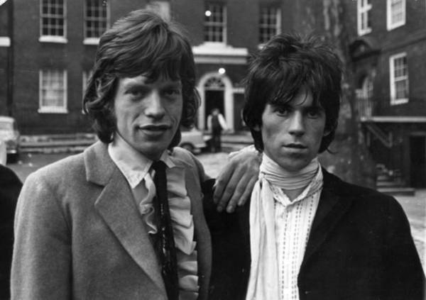 Mick Jagger Photograph - Out On Bail by Keystone