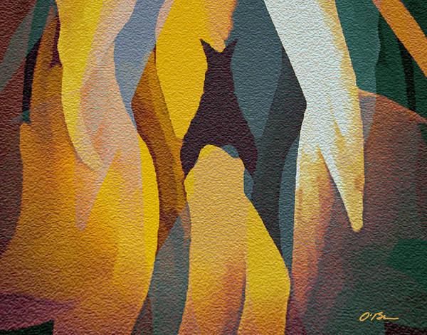 Wall Art - Digital Art - Outback  by Claudia O'Brien