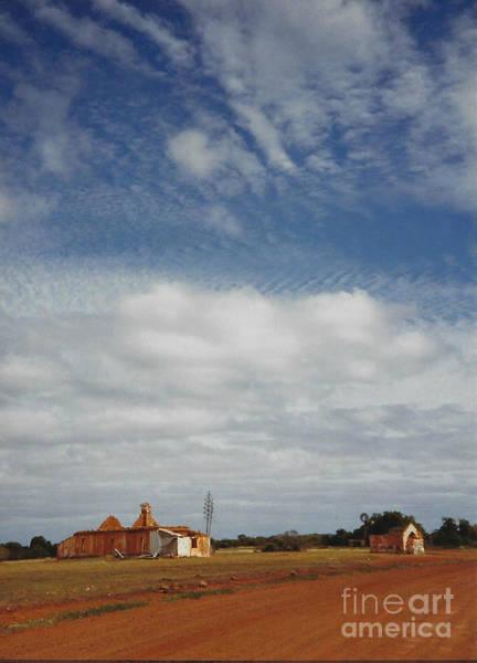 Wall Art - Photograph - Outback Ghost Town - Australia by Miriam Danar