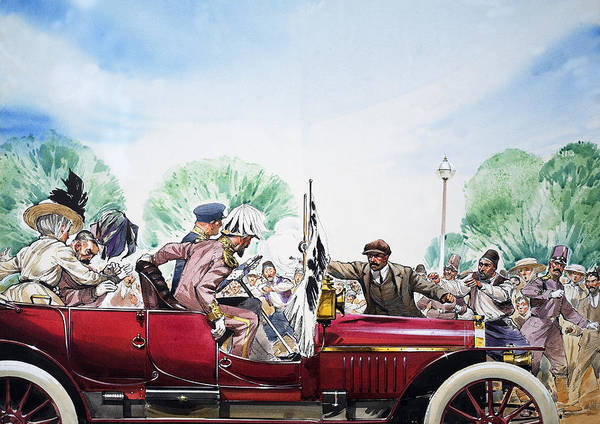 Wall Art - Painting - Outbreak Of The First World War by Angus Mcbride