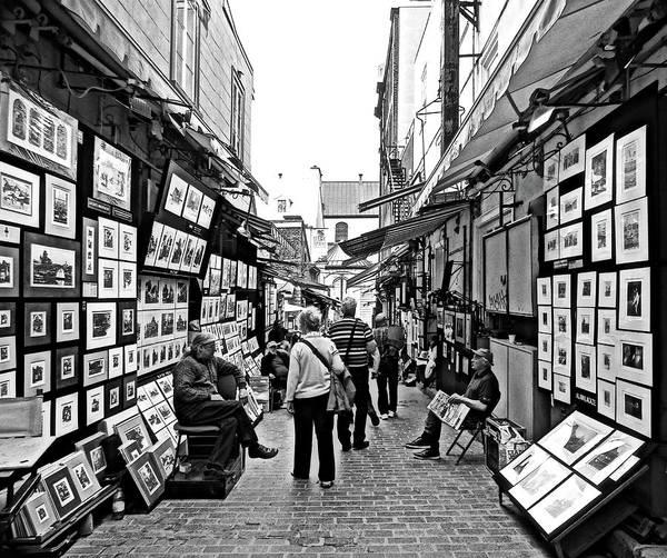 Wall Art - Photograph - Outdoor Art Market, Rue De Tresor, Old Town Quebec City, Canada  by Lyuba Filatova