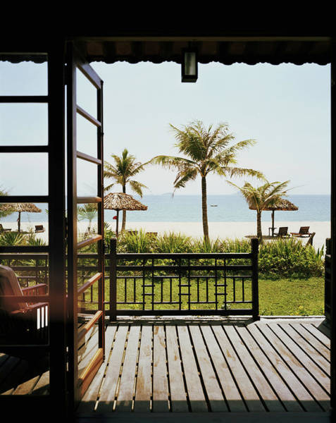 Quang Nam Province Photograph - Outdoor Patio Near Beach by Zubin Shroff