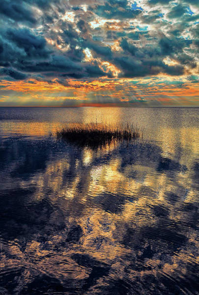 Wall Art - Photograph - Outer Banks Sunset Over Pamlico by Dan Carmichael