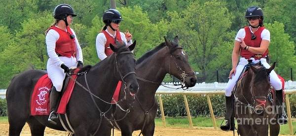 Wall Art - Photograph - Outriders - Laurel Park by Anthony Schafer