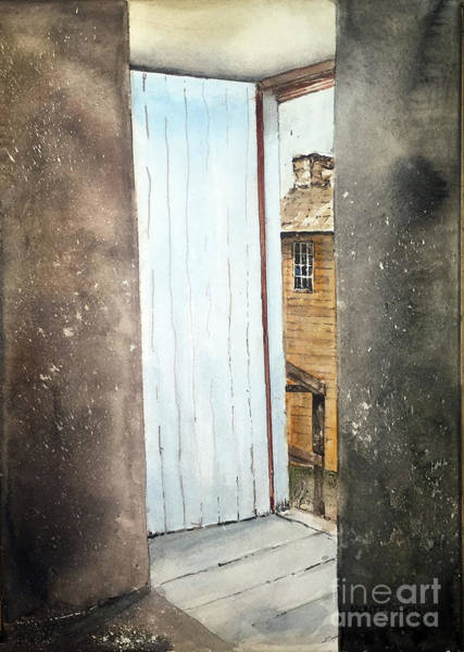 Painting - Outside by Monte Toon