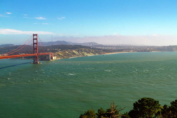Photograph - Outside The Golden Gate by Bonnie Follett