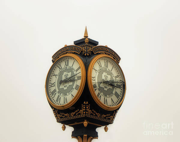 Photograph - Outside Timepiece by Jim Lepard