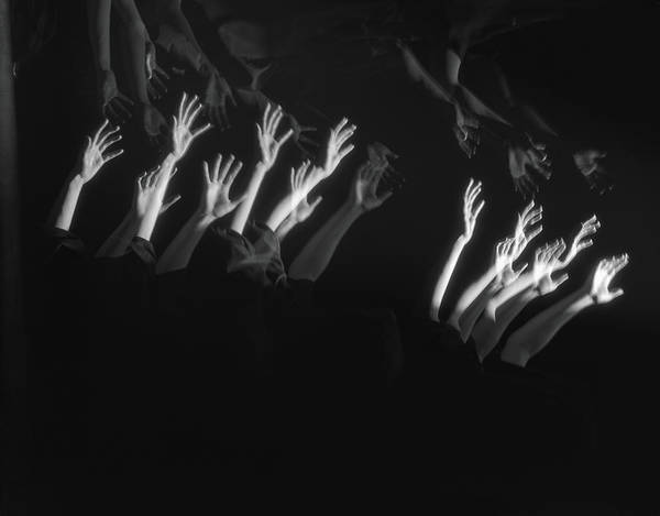 Human Hand Photograph - Outstretched Arms by H. Armstrong Roberts