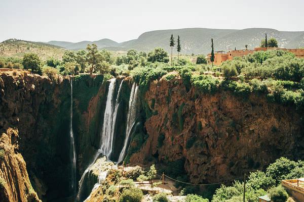 Wall Art - Photograph - Ouzoud Waterfall Landscape by Pati Photography