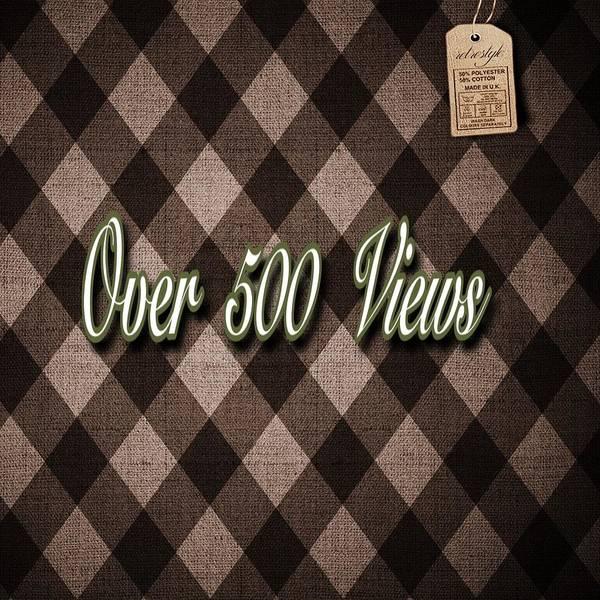Digital Art - Over 500  Views by Swedish Attitude Design
