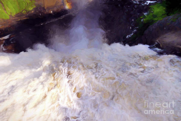 Quebec City Digital Art - Over The Edge At Montmorency Falls by Amy Dundon