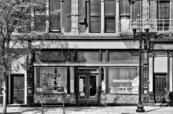 Otr Wall Art - Photograph - Over The Rhine In Cincinnati # 4 Black And White by Mel Steinhauer