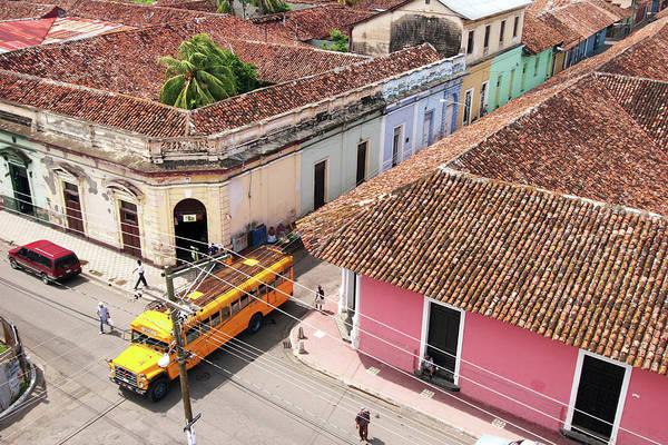 Crossroads Photograph - Overhead View Of Granadas Colonial by Uros Ravbar