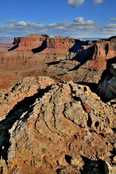 Photograph - Overlooking Shafer Canyon And Trail In Canyonlands Np by Ray Mathis