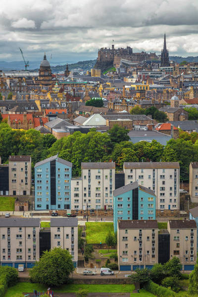 Holyrood Photograph - Overlooking The City Of Edinburgh by Debra and Dave Vanderlaan