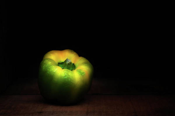 Green Vegetable Photograph - Overripe Bell by Scott Norris