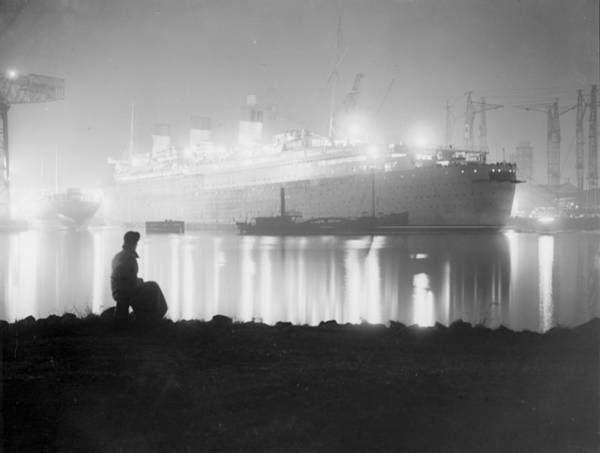 Clydebank Photograph - Overtime by Martin
