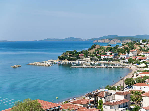 Peloponnese Photograph - Overview Of Fishing Village Of by George Tsafos