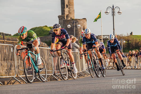 Photograph - Ovo Energy Cycle Race In Aberystwyth by Keith Morris