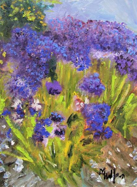 Painting - Ovrflowing Hydrangeas by Michael Helfen