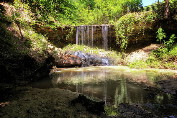 Photograph - Owens Creek Waterfall by Susan Rissi Tregoning