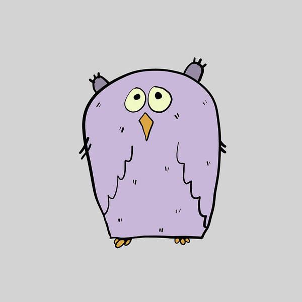 Digital Art - Owl 2 by Thomas Olsen