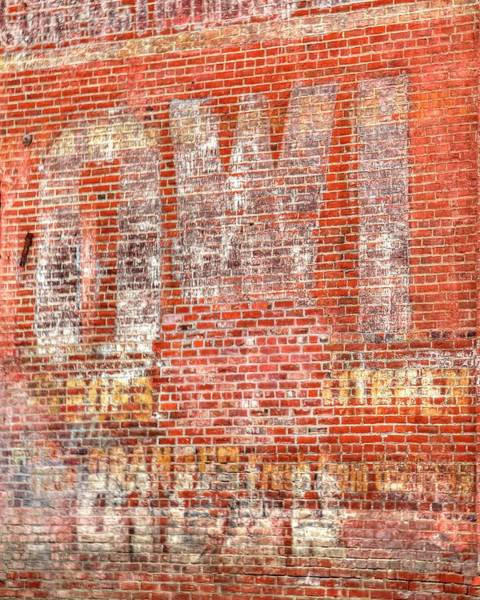 Photograph - Owl Ghost Sign by Jerry Sodorff