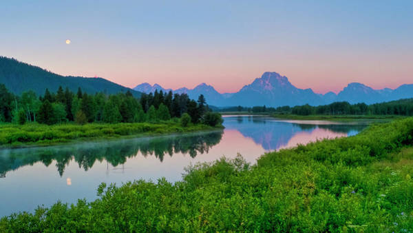 Oxbow Park Photograph - Oxbow Bend  Grand Teton by Luis Castaneda Inc.