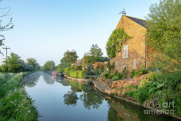Photograph - Oxford Canal Near Kings Sutton by Tim Gainey