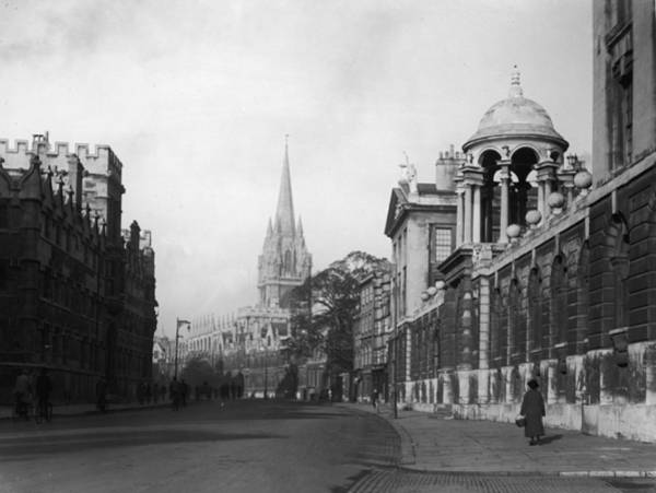 Felton Photograph - Oxford City by Herbert Felton