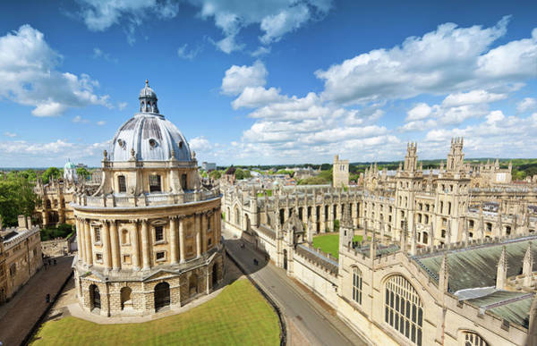 Education Photograph - Oxford, Uk by Nikada